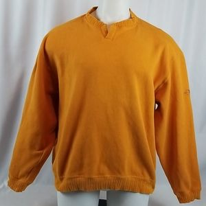 Tommy Bahama Men's Large Cotton Pull Over Sweater